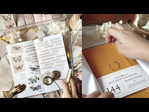 starting a business journal • journal with me [archer and olive notebook pen test]