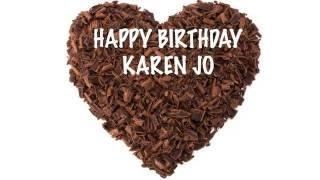 KarenJo   Chocolate - Happy Birthday