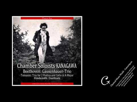 Chamber Soloists Kanagawa / Tomasini , Hindemith & Beethoven