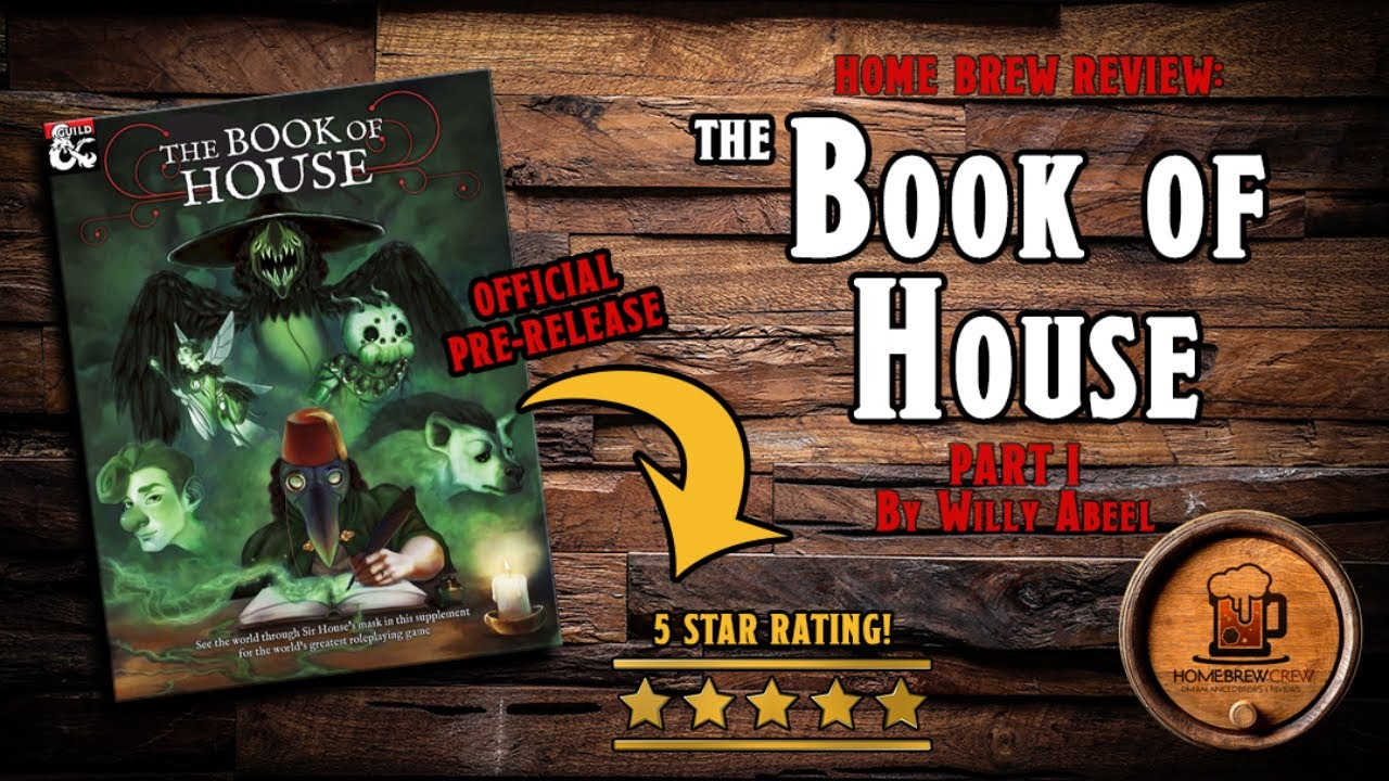 The Book of House: This D&D supplement turns clowns into a