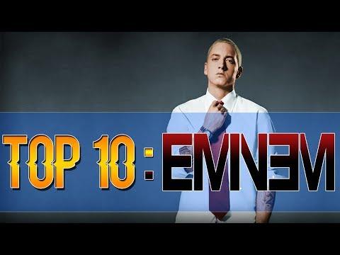 TOP 10 des MEILLEURES CHANSONS de... EMINEM !