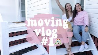 viewing houses & empty house tour! 🏡 Moving vlog #1!