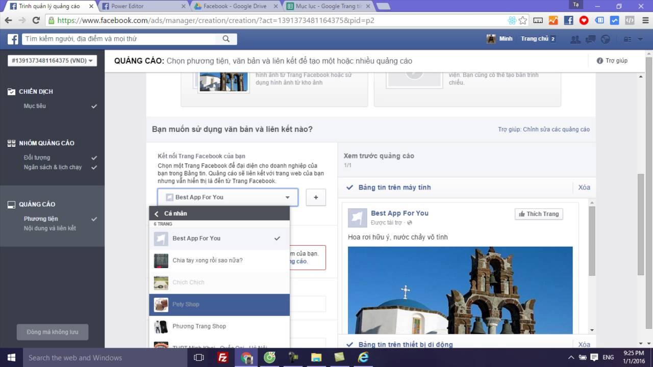 Bài 4 Phần 2 Hướng dẫn tạo quảng cáo Facebook bằng ads manager – Quảng cáo Facebook