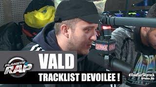 """Vald - The tracklist """"Ce monde est cruel"""" et son histoire #PlanèteRap"""