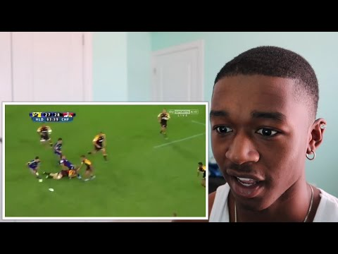 MOST ENTERTAINING 3 MINUTES OF RUGBY EVER | REACTION