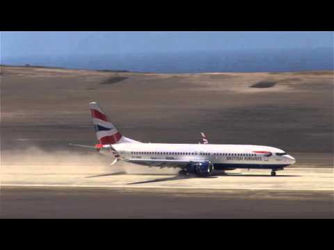 St Helena welcomes their first Commercial airplane