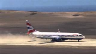 St Helena welcomes their first Commercial airplane thumbnail