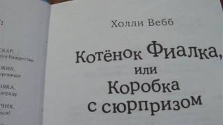 видеоабзор на мою книгу КОТЁНОК ФИАЛКА ИЛИ КОРОБКА С СЮРПРИЗОМ.