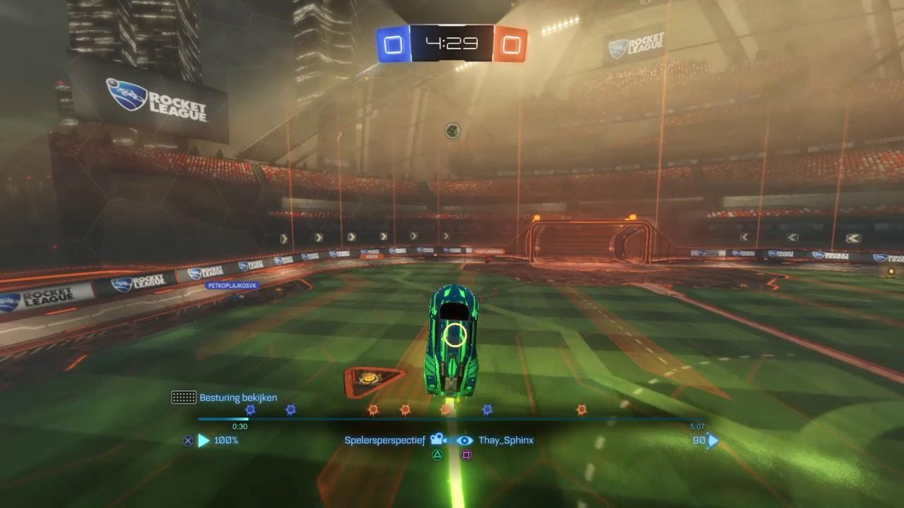 Rocket league aerial