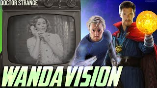 Hawkeye & Doctor Strange in WandaVision leading to Scarlet Witch in the Multiverse of Madness?