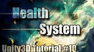 Unity3D Tutorial #10 [ Player Health System ][ Free Script Included ]