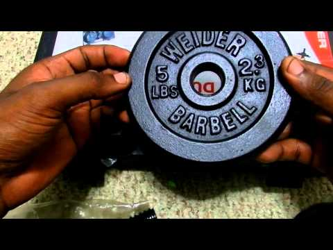 Welder Cast Iron 40lb Dumbbell Set Unboxing.