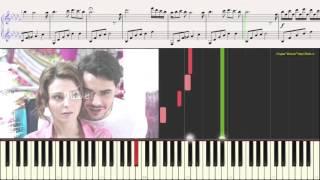 Лестница в небеса (Тема) (Ноты для фортепиано) (piano cover)(Студия