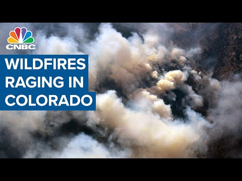 Wildfires Are Raging In Colorado, Destroying Homes And Forcing Hundreds To Evacuate