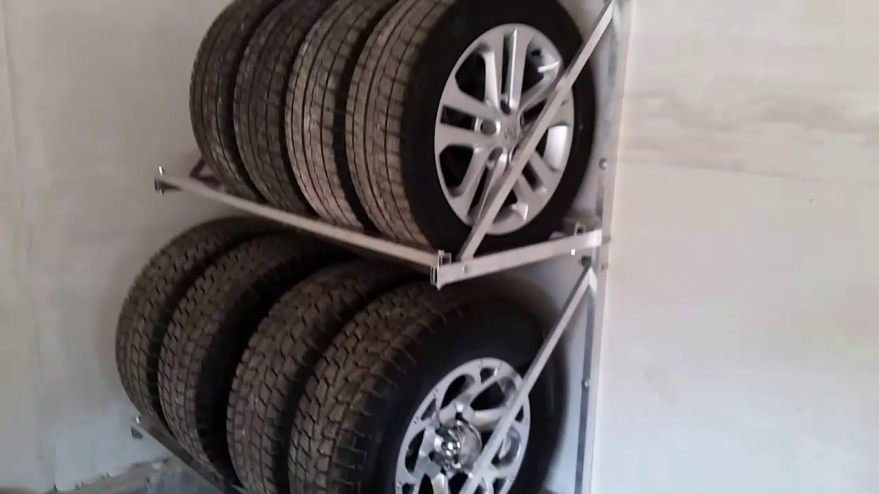 Как сделать, полки для хранения колес, не дорого но культурно