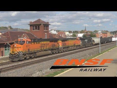 Railfanning BNSF in Fort Madison, IA