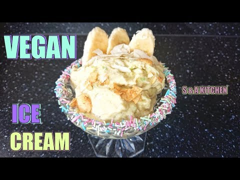 HOW TO MAKE VEGAN ICE CREAM