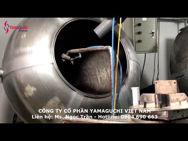Máy phun phủ socola, béc phun socola, phun đường - Hotline: 0904 690 663