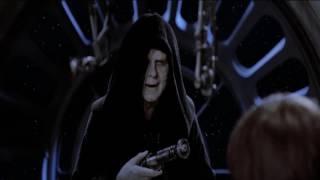 Звездные Войны Эпизод VI Диалог Императора Палпатина с Люком Скайуокером (HD)