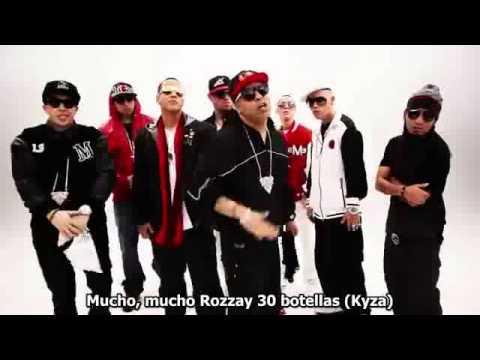 Llegamos a la disco (Video Oficial  Letra HD)   Daddy Yankee ft Varios Artistas