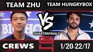 Genesis 4 SSBM - Team Zhu Vs. Team Hungrybox - Smash Melee Draft Crews