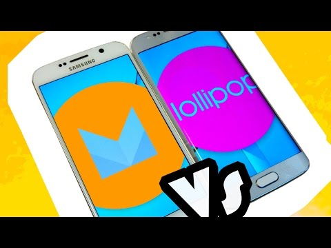 Samsung Galaxy S6 Android 6.0 Marshmallow Beta vs Lollipop 5.1.1