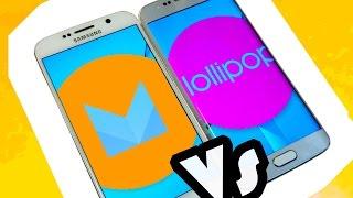 Samsung Galaxy S6 Android 6.0 Marshmallow Beta vs Lollipop 5.1.1