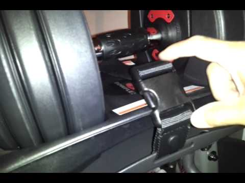 Bowflex 552 .  Faulty harness.  2009 2012 Dumbbells with Stand.  Compare Old and New