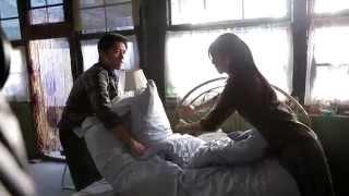 《一生一世》拍摄花絮 谢霆锋、高圆圆现场甜蜜叠棉被