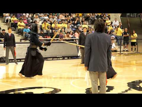 Kendo 2017 Nikkei Games: Opening Ceremony--Kendo Match Demo