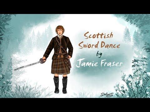 Scottish Sword Dance by Jamie Fraser / Frame-by-frame animation