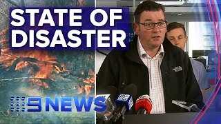 Victoria Bushfires: Extreme fire conditions to hit state again | Nine News Australia