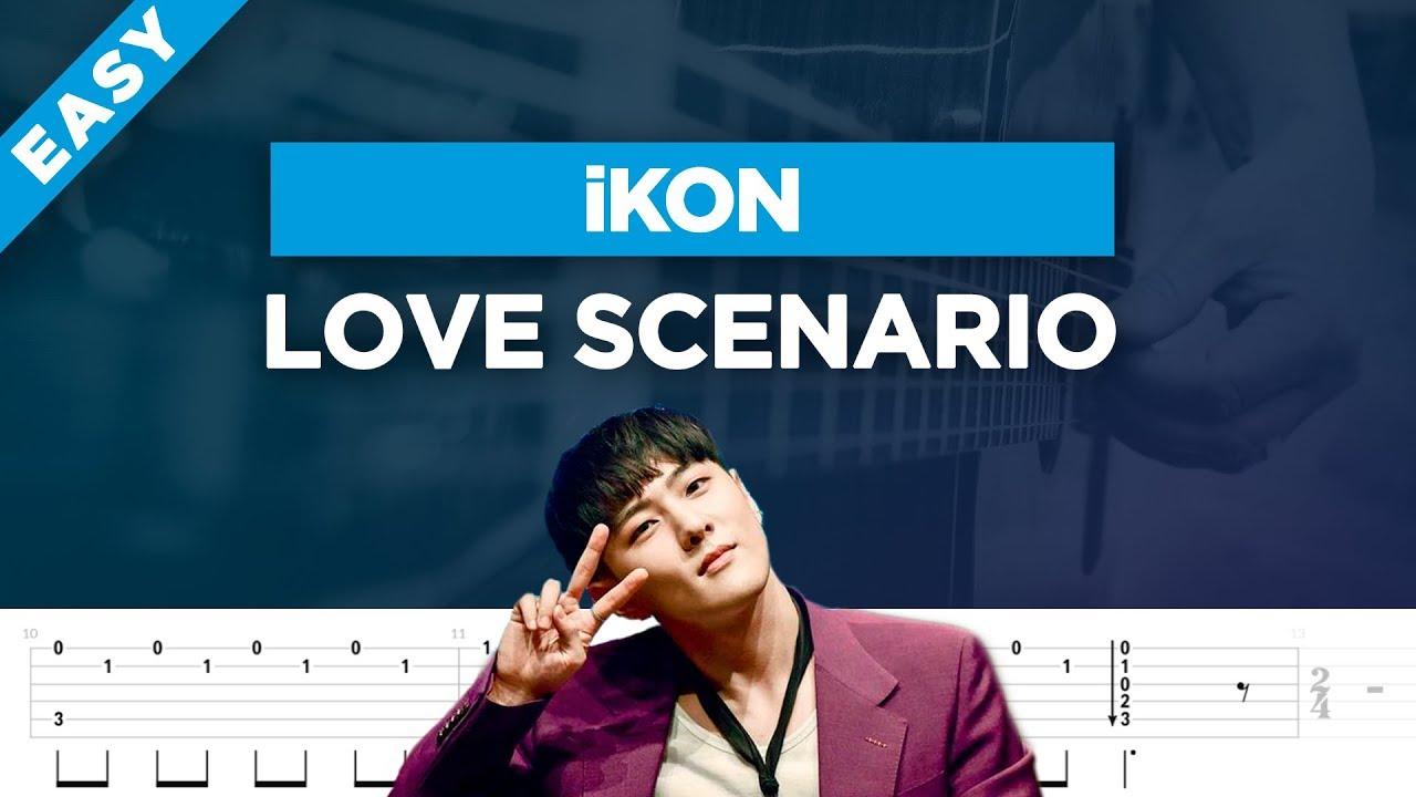 🎸 iKON Love Scenario easy guitar cover + lesson with tabs