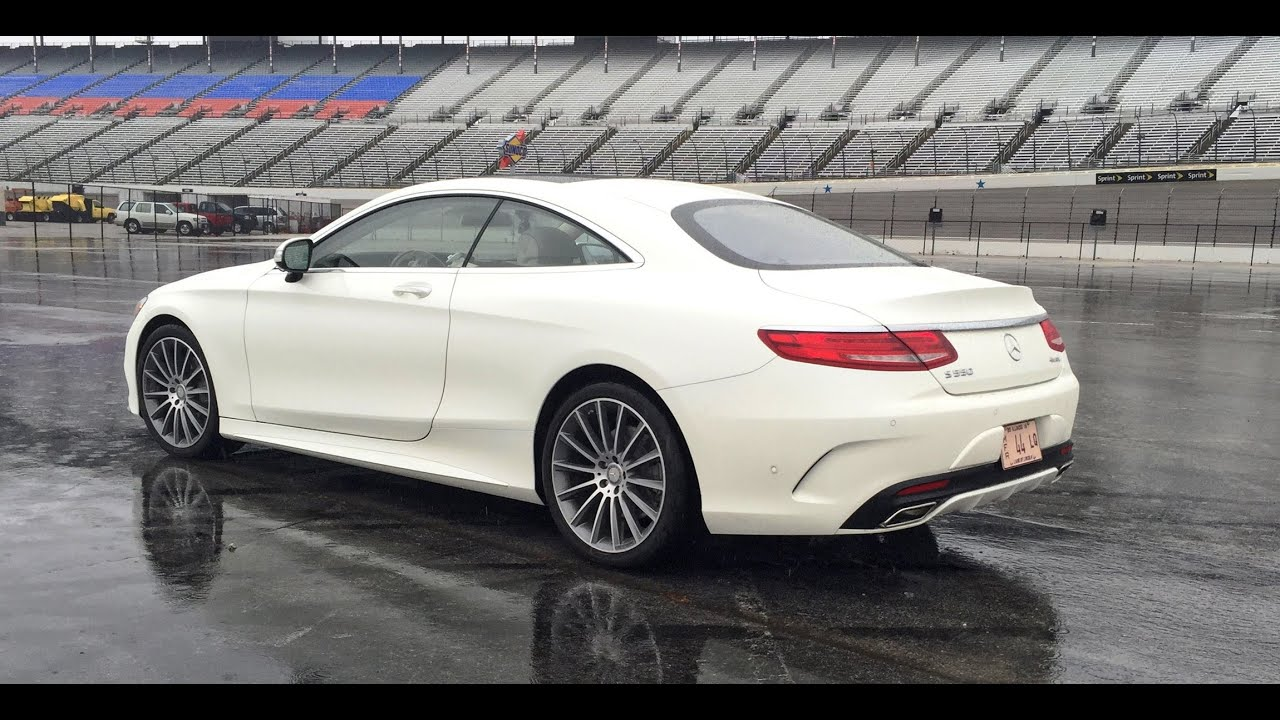 2015 Mercedes Benz S550 Coupe   Exhaust Note Sample   YouTube