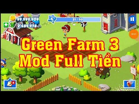 Hướng Dẫn Tải Green Farm 3 Mod Full Tiền   HP Game