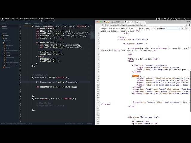 jQuery for Total Noobs Vol. 2: #13 Manipulating HTML - Creating Markup