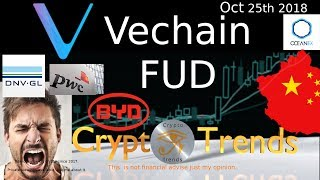 Vechain FUD is BS. Supply chains explained by a systems architect.  Go VET!!