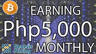 How I earn Php 5,000 Monthly on MIning  Bitcoins ( Tagalog )