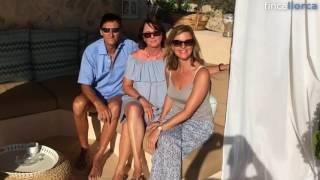 Jeanette, Sybille und Heinz auf der Finca Bon Any