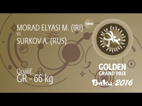 Qual. GR - 66 kg: A. SURKOV (RUS) df. M. MORAD ELYASI (IRI), 2-0