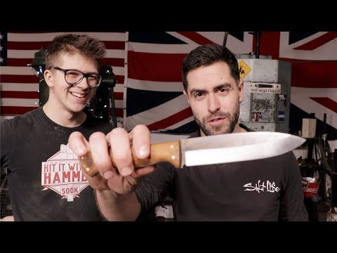 Bushcraft & Blacksmithing: How to Make a Bushcraft Knife with ALEC STEELE