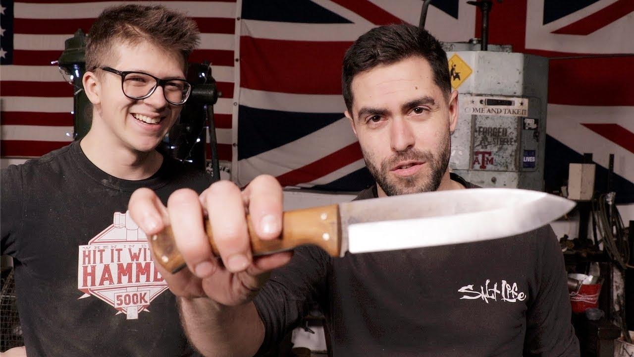 Bushcraft & Blacksmithing: How To Make a Bushcraft Knife