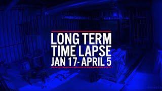 Long-term Time Lapse: Potbelly Sandwich Restaurant Construction