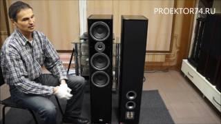 видео напольная акустика HECO Aurora 700