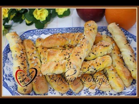 Bakina kuhinja -slani štapići sa sirom neodoljivo dobro