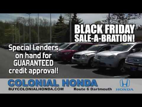 4th Annual Colonial Honda Of Dartmouth Black Friday Event