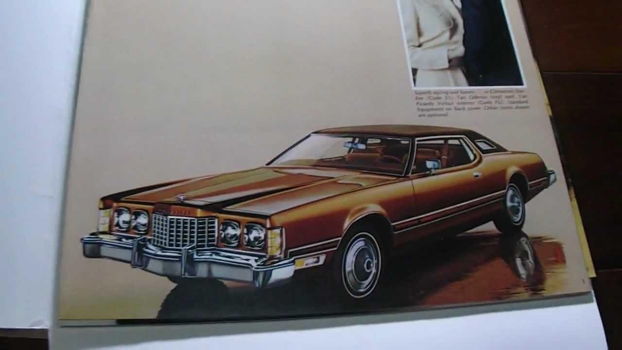 Brochure Ford Thunderbird 1974 - YouTube