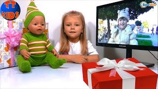 ✔ Кукла Беби Борн и Ярослава. Подарок для новой подружки девочки Поли / Doll Baby Born and Jaroslava