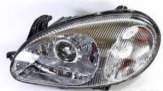Как восстановить стекло и пластик фары автомобиля от помутнения до блеска, восстановление фар без полировки, видео
