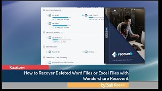 Recovering Excel and Word Files Using Wondershare Recoverit